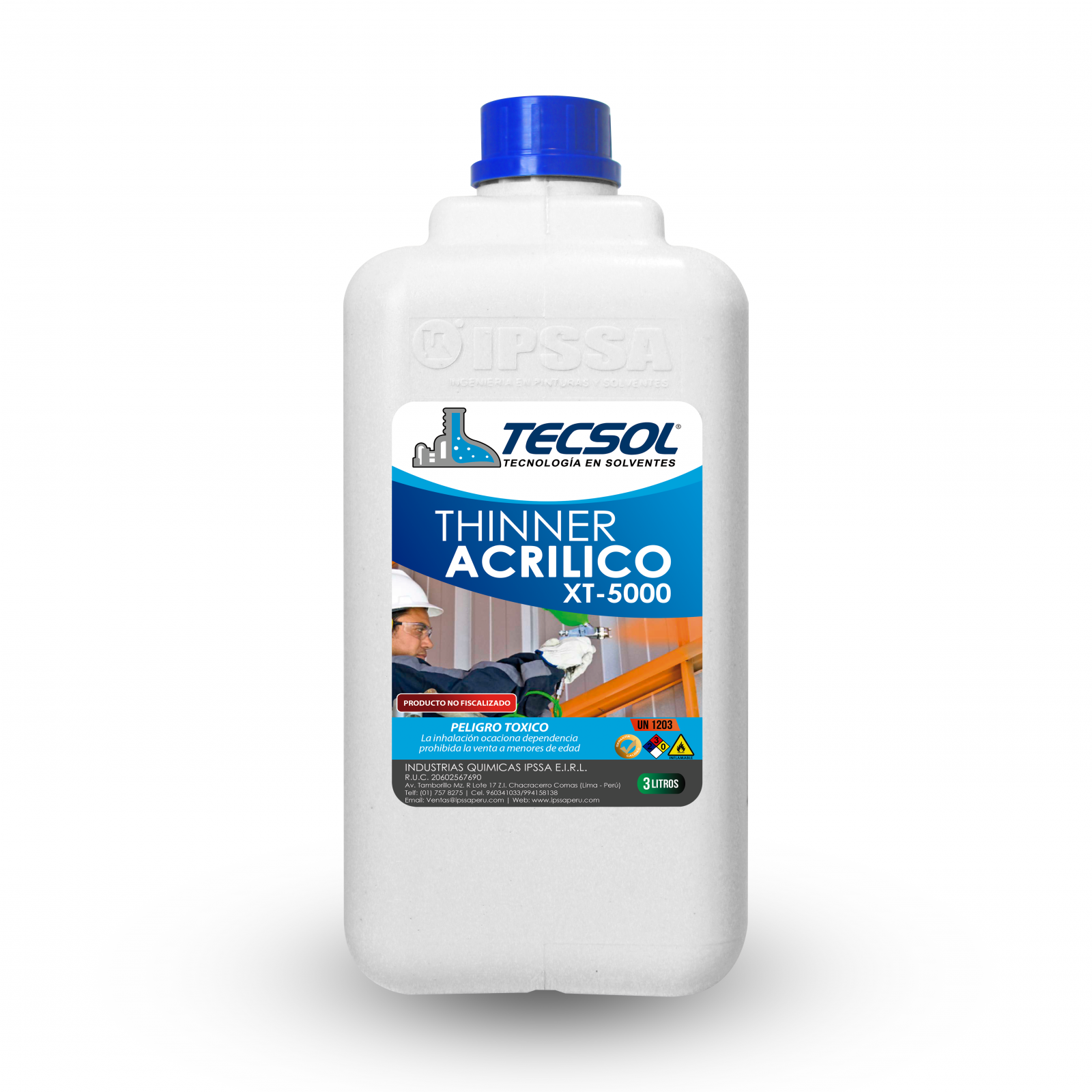 Thinner Acrilico XT-5000